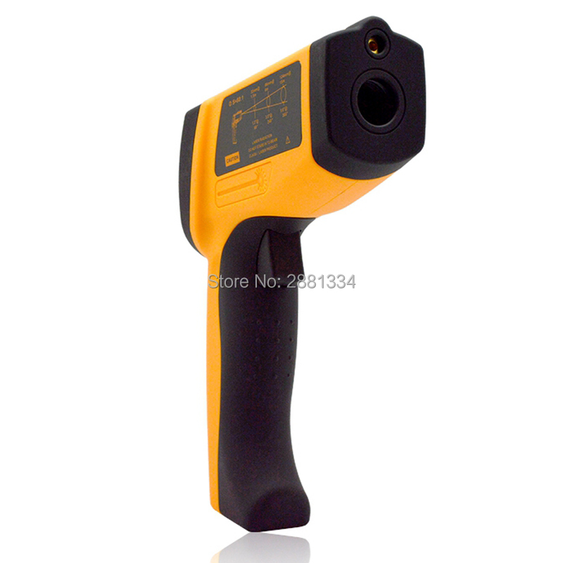 Handheld Infrared IR Thermometer GM2200 Temperature Range 200~2200 C 0.1 To 1.00 Adjustable Temperature Meter Tester (3)