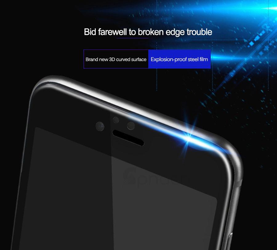 полный экран протектор весы стекло для айфона 8 7 6 плюс 6 s плюс мягкие изогнутые 3д люкс стекло для айфона 8 чехол плёнки
