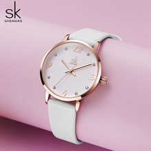 Shengke Modern Fashion Women's Watches Female Quartz
