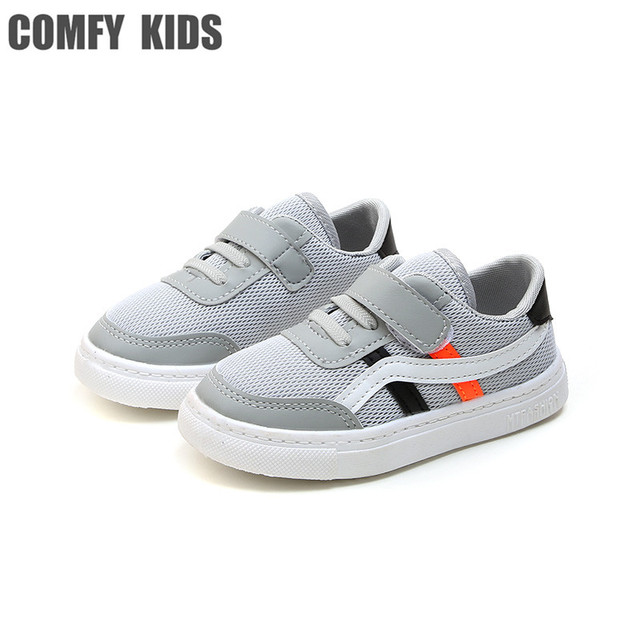 ebb28d8348c0 COMFY KIDS Summer Mesh fabric Flat With Kids Sneakers Shoes Fashion Casual  Breathable Girls Sneakers Shoe For Child Sneaker