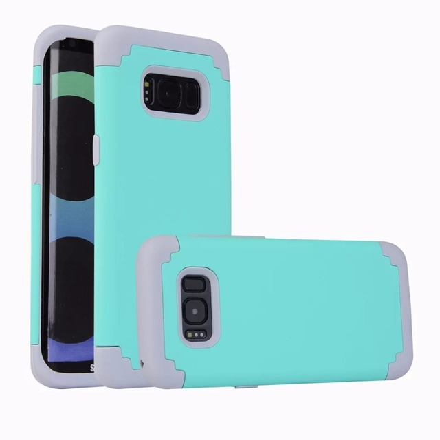 huge discount 90bc9 a405a US $7.8 |For Samsung Galaxy S8 Case Hybrid Dual Layer Shock Absorbing  Impact Resist Case Cover for Samsung Galaxy S8/S8 Plus Cover on  Aliexpress.com | ...