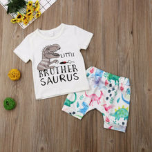 Brother Matching Dinosaur Clothing Outfit Set