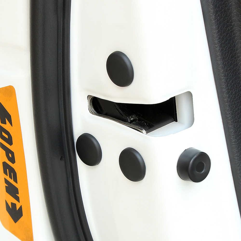 Cubierta protectora de tornillo de bloqueo de puerta de coche de 12 piezas para Renault Koleos Clio escénica Megane Duster Sandero capture Twingo