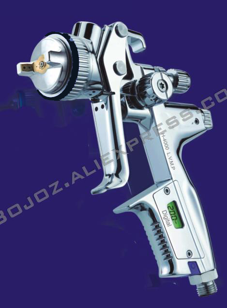 Высокое качество опрыскиватель H 4000 L.V.M.P цифровой Краски пистолет самотеком 1,3 мм W/T 600 мл чашки Pistal пистолет