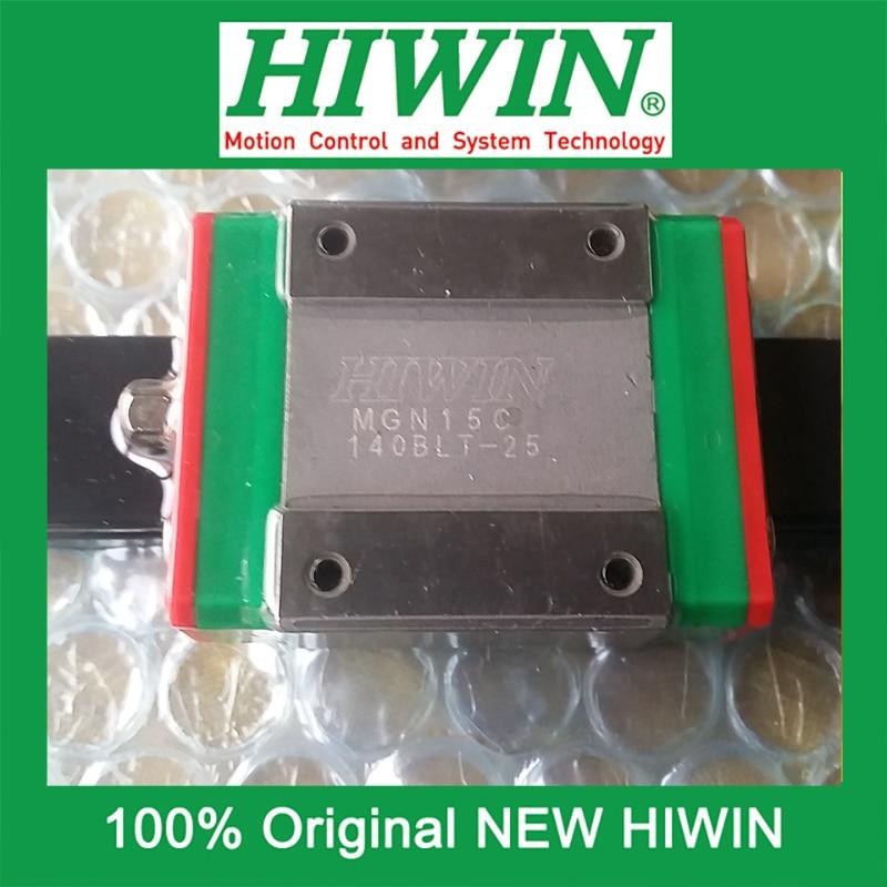 все цены на 1pcs HIWIN MGN15 MGN15C MG15 MGN15H New original linear guide block Original HIWIN Linear Guide CNC Parts Stock Good онлайн