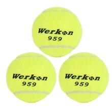 Теннисный Спортивный Пояс линия тренировочный мяч эластичная резинка теннисные мячи, чтобы улучшить свои навыки Желтый Зеленый