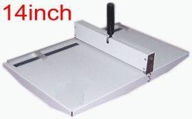 Office paper creaser, creasing machine for paper photo card 360mm , manual scoring machine 14