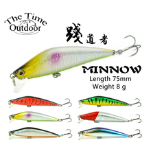 New Floating Jerkbait Minnow Bait Fishing Lure Hard Lure isca artificial Bait Plastic Wobble Lure para pesca 75mm/8g