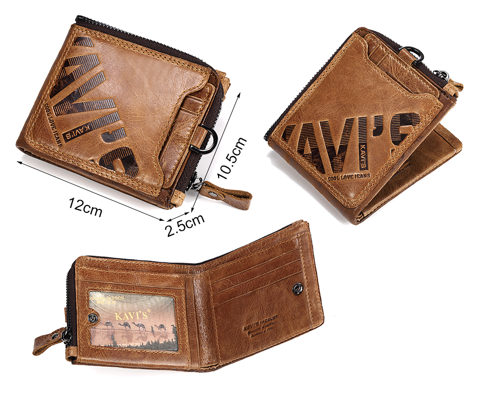 HTB1KThyX9Ct61JjSZFqq6zPqpXap - KAVIS Crazy Horse Genuine Leather Wallet Men Coin Purse Male Cuzdan Walet Portomonee PORTFOLIO  Perse Small Pocket money bag