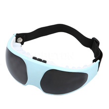Electric Eye Care Massager Smart Fitness Glasses Mask Relaxation Alleviate Fatigue Vibration Health Care Forehead 2*AAA Battery
