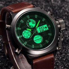 2018 chronograph Watches men luxury brand Sports LED digital