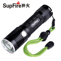 SupFire A18 Cree XML L2 1100LM 5 Mode Mini USB rechargeable flashlight by 1*26650 Battery