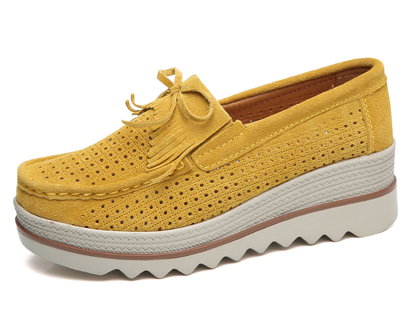 HX 3088 Platform Flats Shoes Women-9