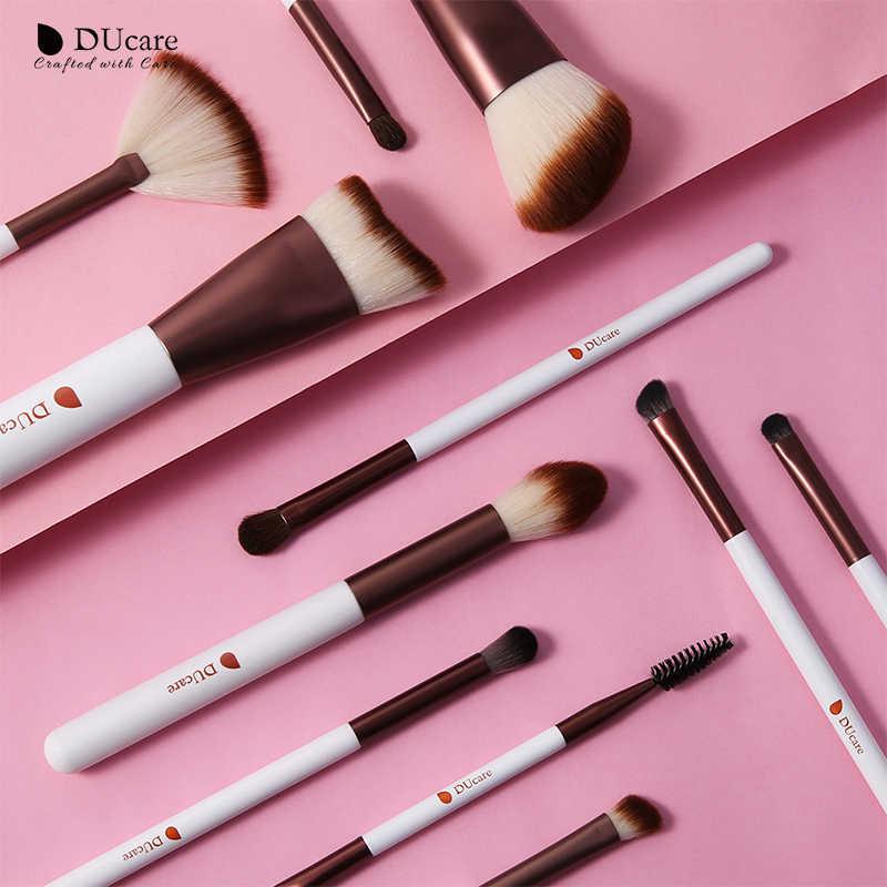 DUcare pinceaux de maquillage 5/6/7/11 pièces pinceau de maquillage ensemble Contour fard à paupières ventilateur surbrillance correcteur sourcil pinceau outil cosmétique