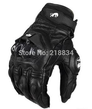 Darmowa wysyłka afs6 10 18 rękawice motocyklowe rękawice wyścigowe rękawice rowerowe oryginalne skórzane fajne rękawice silnikowe M L XL tanie i dobre opinie Z pełnym palcem Skóra Unisex
