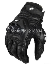 Free shipping furygan afs6 motorcycle gloves racing cycling glove Genuine leather Cool motor M L XL