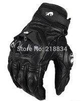 Guantes de moto afs6/10/18 guantes carreras guantes de ciclismo cuero auténtico guay guantes de motor M L XL envío gratis|motorcycle gloves racing|motor gloves|motorcycle gloves -