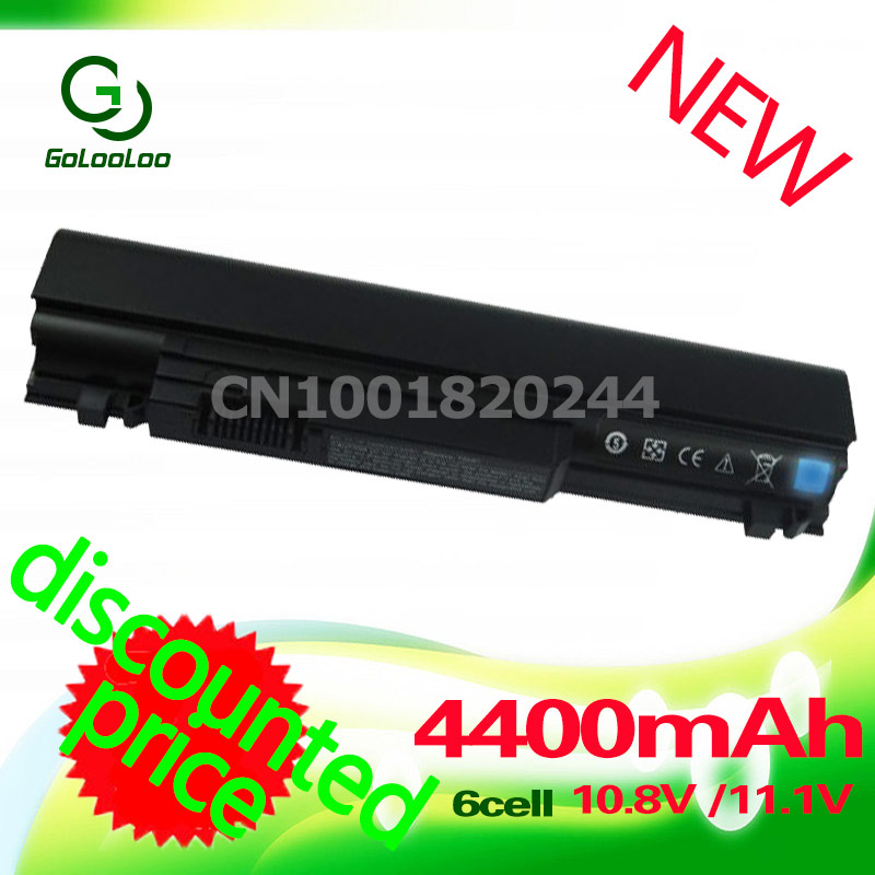Golooloo 4400mAH Battery For dell Studio XPS 13 1340 312-0773 P891C T555C