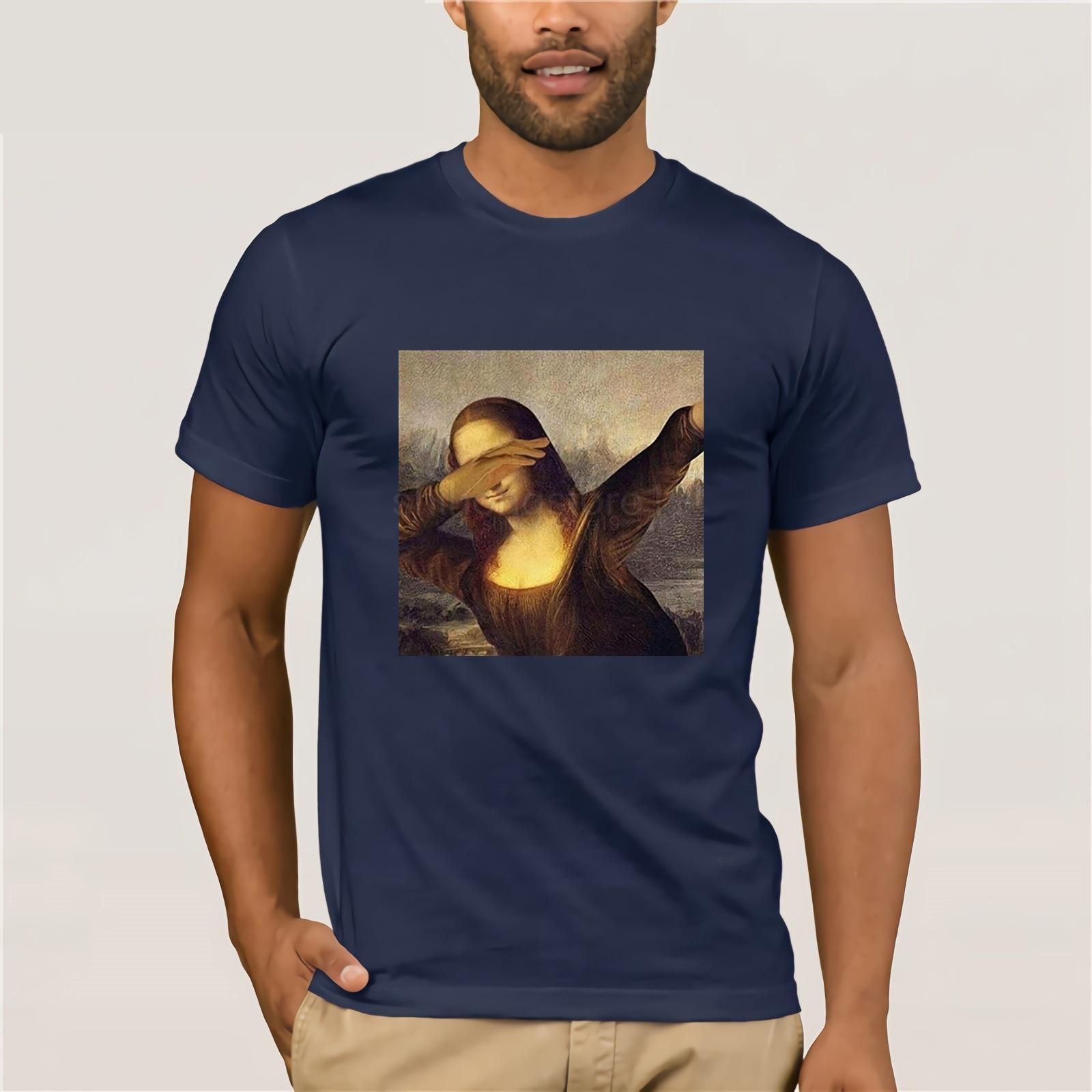 Mona Lisa Dabbing Dab Funny   T     Shirt