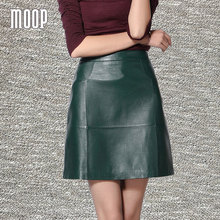 Leather skirt green online shopping-the world largest leather ...