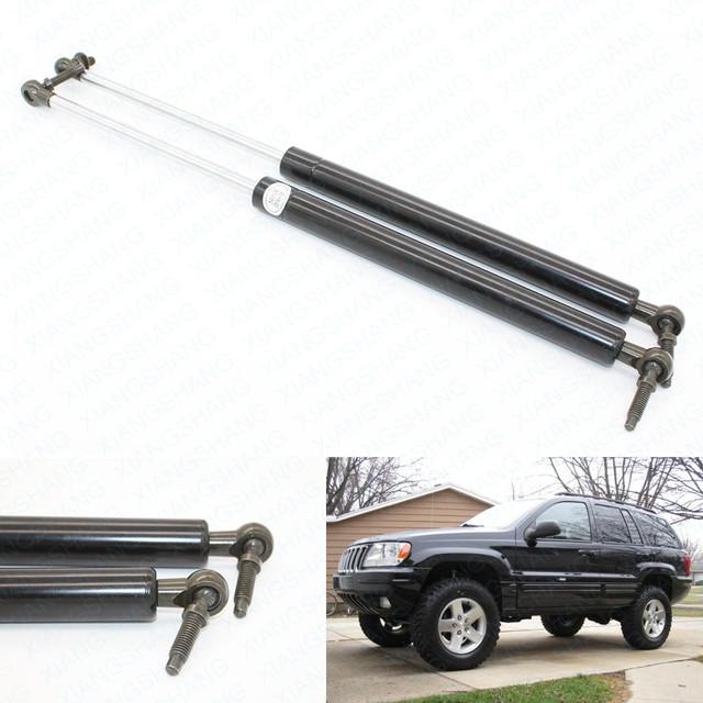 2 pcs traseiro bagageira bota struts gás cobrado levantar apoio para 1999 2000 2001 2002 2003 2004 jeep grand cherokee