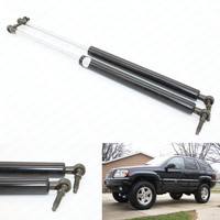 2 Rear Tailgate Gas Charged Struts Lift Support For 1999 2004 Jeep Grand Cherokee