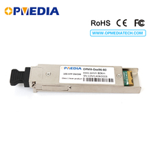 10GBASE-DWDM XFP 80KM C-Band(1563.86nm~1528.77nm) transceiver optical module,100% compatible with Juniper equipments