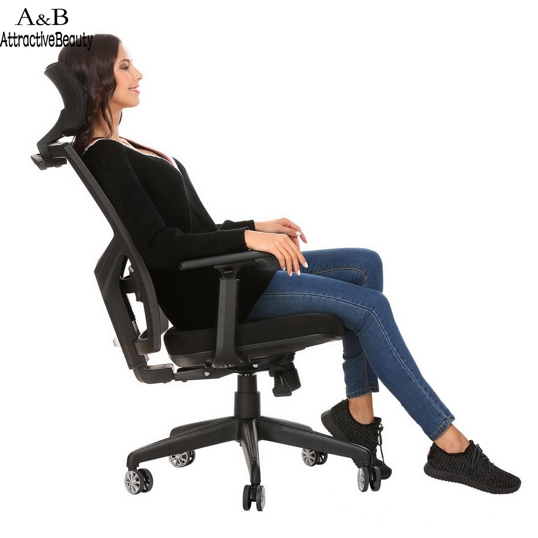 Computer Chair Ergonomically Correct Us 230 03 19 Off Homdox Lift Chair Office Computer Chairs Ergonomic Mesh High Back Office Chair With Armrest And Adjustable Headrest N30 In Office