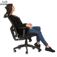 Homdox Lift Chair office Computer chairs Ergonomic Mesh High Back Office Chair with Armrest and Adjustable Headrest N30*