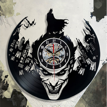 Black Classic Old Record Concept Wall Clock Antique Retro CD Vinyl Clocks Quartz mechanism horloge murale