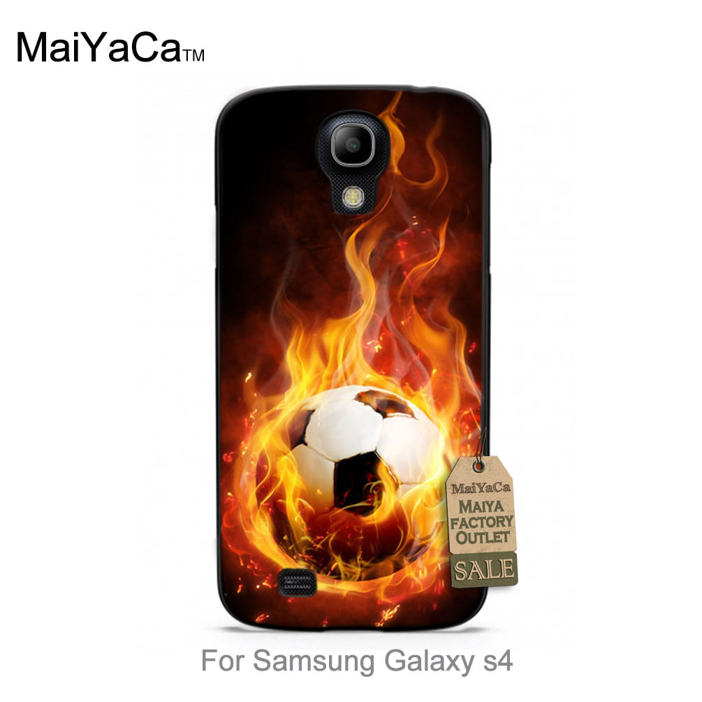 Hunger Games Quotes fire football Colorful Cute phone Accessories For case s4 i9500