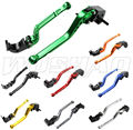 DIY Colors Motorcycle Adjustable Long Brake Clutch Levers For Honda CB400SF CB919 CB600 CBR 600 F2 F3 F4 F4i CB400 CB 400 919