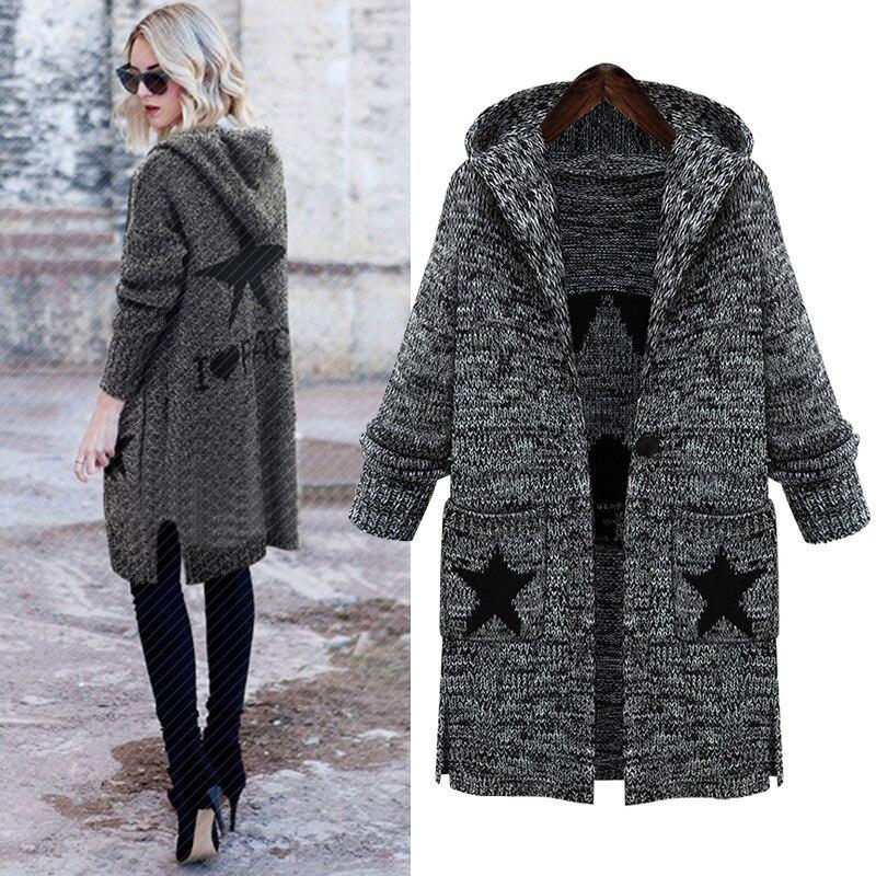 Online Get Cheap Long Hooded Sweater Coat -Aliexpress.com ...