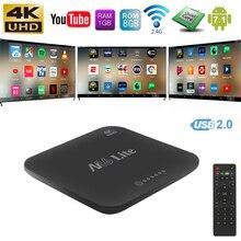 Android 7.1 Wireless Wifi TV Box Quad Core 32bits Cortex 1G/