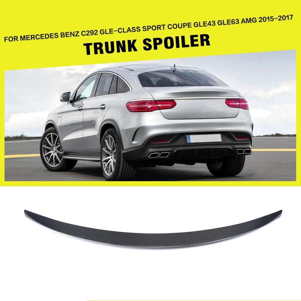 Carbon Fiber / FRP Rear Trunk Spoiler Lip Wing For