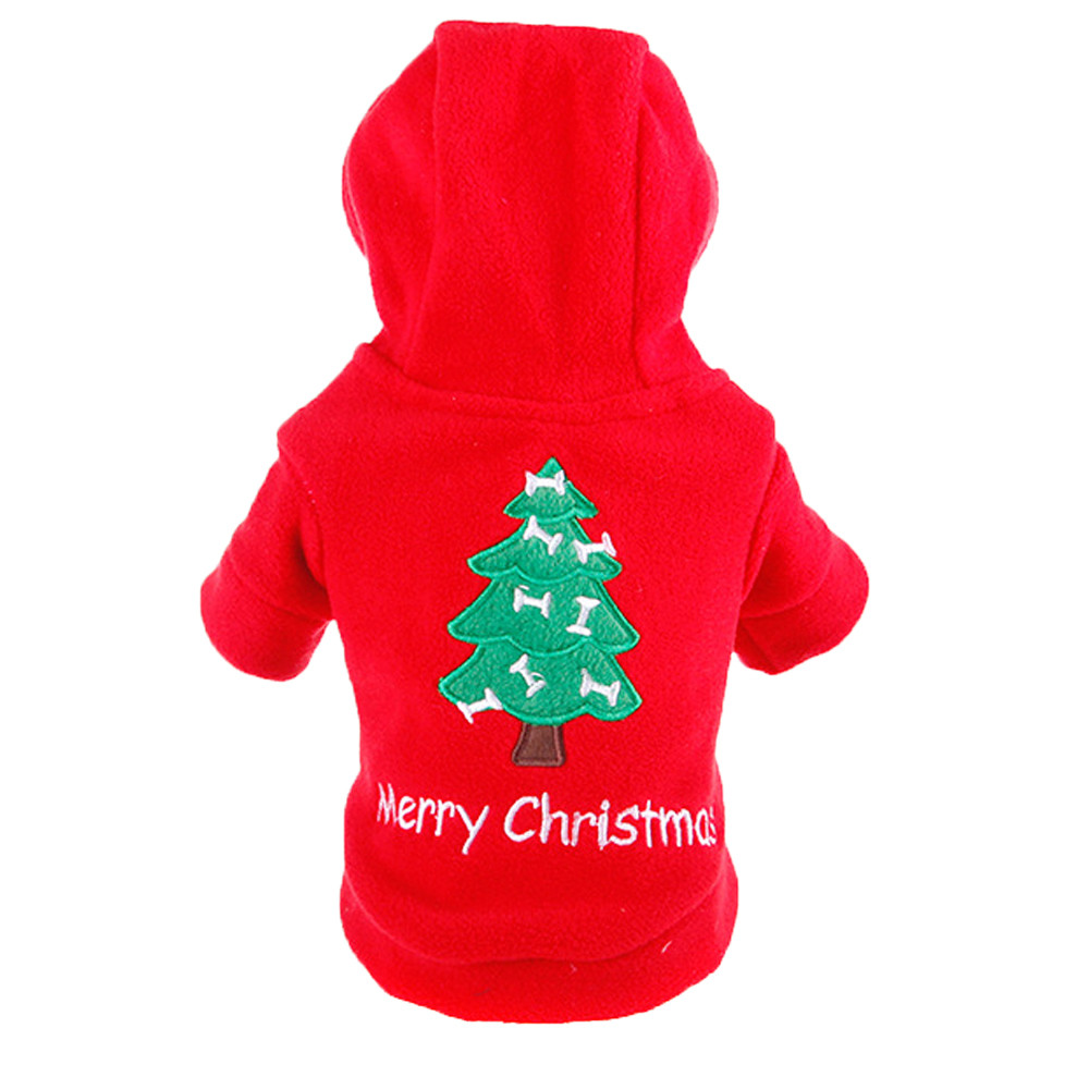 Small Dogs Costume Clothes For Little Dogs Overalls Christmas Dogs Dress Winter Warmer Pet Costume Pet Dog Fleece Puppy Clothes