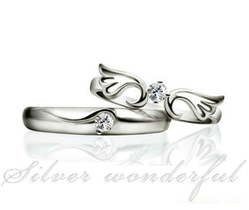 Angel Wing 925 Sterling Silver Wedding Rings With Romantic. Fake Wedding Rings. Puzzle Piece Wedding Rings. 8ct Engagement Rings. Perfect Wedding Rings. Blue Wedding Rings. Star Sapphire Engagement Rings. East West Wedding Rings. Bad Men Wedding Engagement Rings