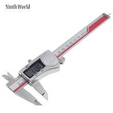 Ninth World-calibrador Digital de acero inoxidable, calibrador Vernier electrónico de 0-150mm, 0,01 pulgadas, herramientas de medición Industrial