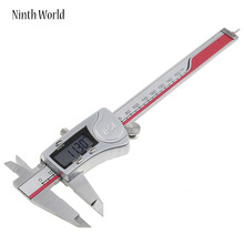 Big discount Ninth World IP54 Digital Caliper 0-150mm 0.01 Stainless Steel Electronic Vernier Calipers Metric Inch Measuring Tools Industrial