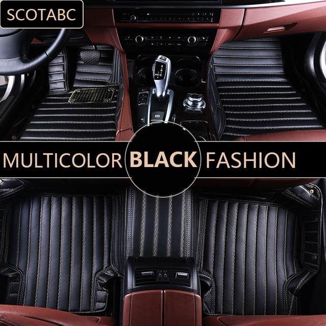 Scotabc Custom Car Floor Mats For Jeep Grand Cherokee 2014 Luxury