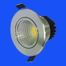 Wholesale price 50pcs/lot COB Led Ceiling Light 9W Dimmable Recessed Led Down Lamp Warm/Cool White For Home Lighting 110V 220V free shipping dimmable 10w cob led ceiling light 110v 220v warm white cold white recessed led lamp down light for home lighting