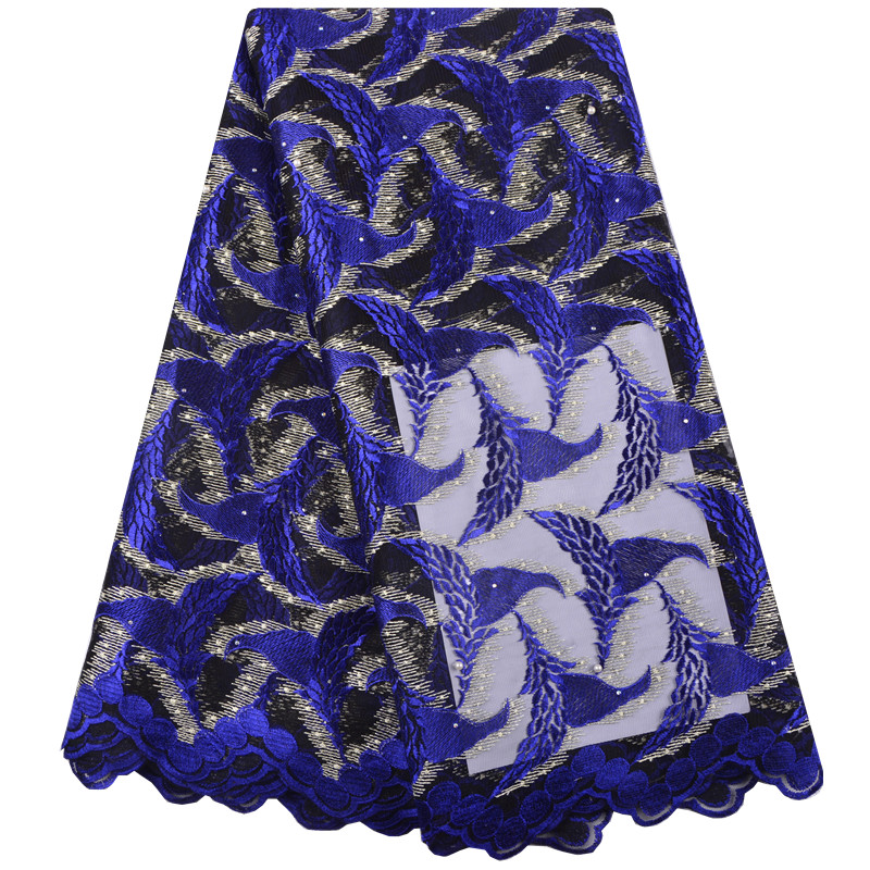 Latest Nigerian Laces Fabrics High Quality African Lace Fabric For Wedding Dress French Tulle Lace With