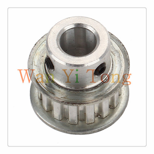 US $3 58 |XL Type 10mm 15 Teeth Aluminum Timing Belt Pulley with two M4 Top  Tight Screws-in Pulleys from Home Improvement on Aliexpress com | Alibaba