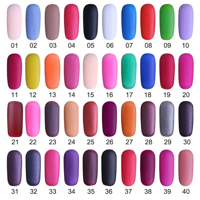 1 pcs 12ml Matte Dull Nail Polish Fast Dry Long lasting Nail Art ...