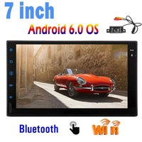 Support WiFi/3G/4G/Mirrorlink/USB/SD/AM FM RDS Radio/Bluetooth Universal 2 DIN 7 inch Car Stereo with Andriod 6.0 System 1GB 16G