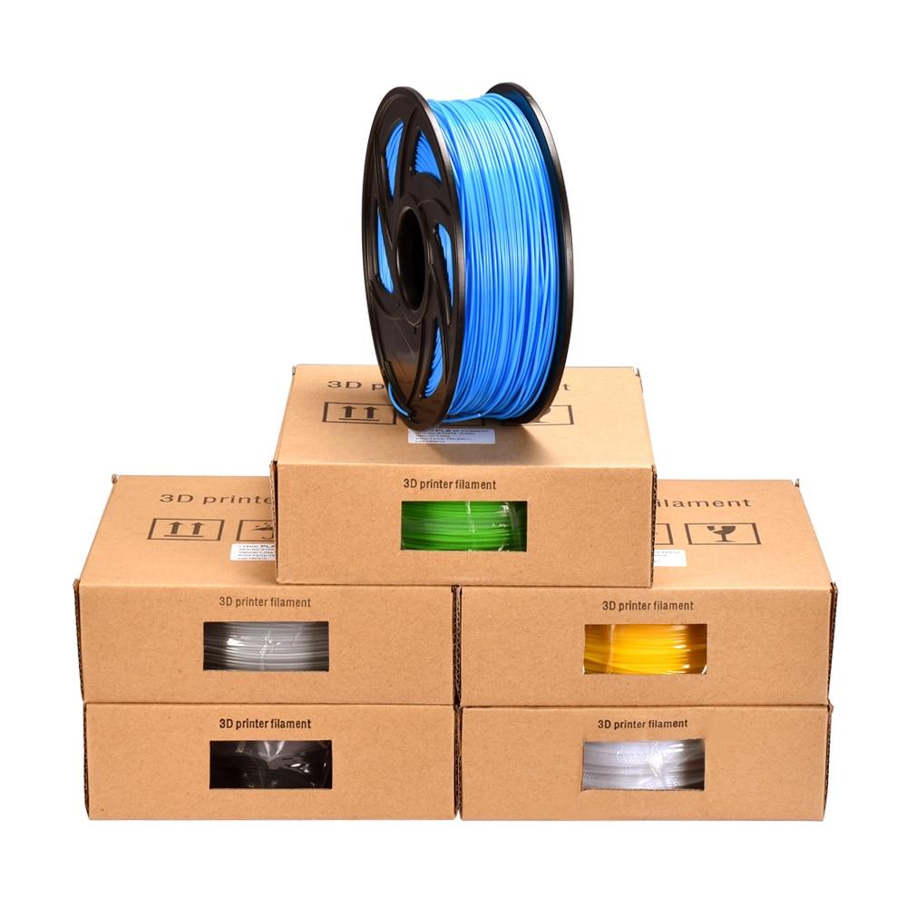 Caneta PLA Filamento 1.75 MILÍMETROS PLA Filamento Plástico Para 3D 1 KG 3D Material 3D Extrusora de Impressora Caneta Impressão Impresora 3D Peças Da Impressora