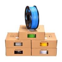 PLA filamento plástico para pluma 3D PLA filamento 1,75 MM 1 KG 3D Material de impresión 3D Impresora extrusora pluma Impresora 3D piezas de la impresora