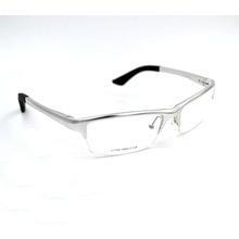 High Quality Aluminum Optical Glasses Frame, Half frame Sports Prescription Eyewear