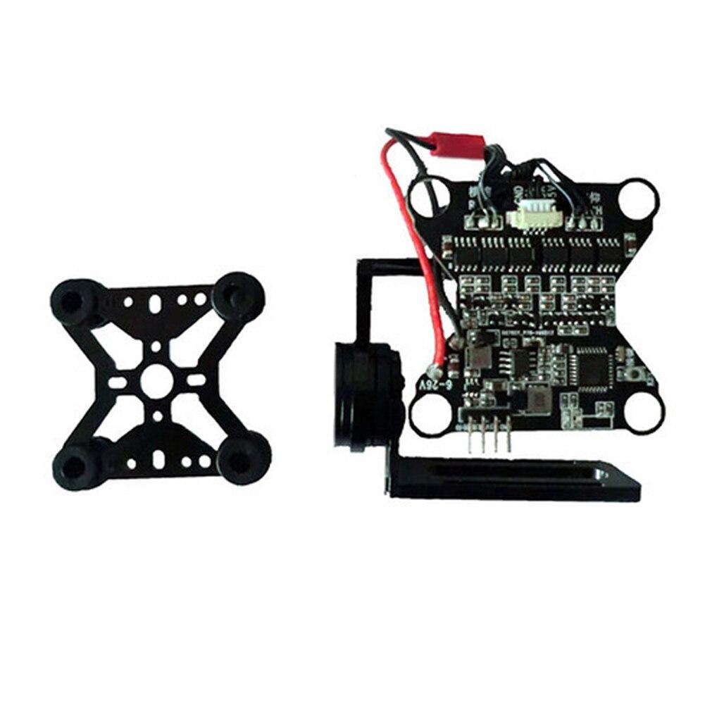 Capteur Durable professionnel d'alliage d'aluminium de photographie de cardan de contrôleur de vis sans brosse aérien de 2 axes pour la caméra de GoPro - 5
