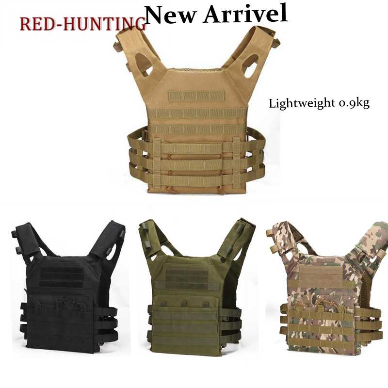Men Huntung Vest Airsoft Sport Paintball Plate Carrier JPC Tactical Vest Military Army Combat Training Shooting Vest